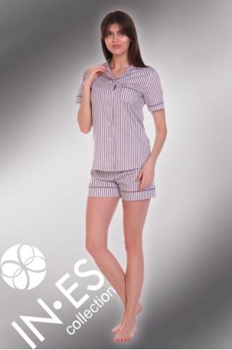 "Пижама ""Холли"" шорты полоса"