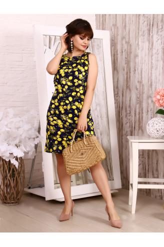 """Платье """"Нероли лимоны"""""""