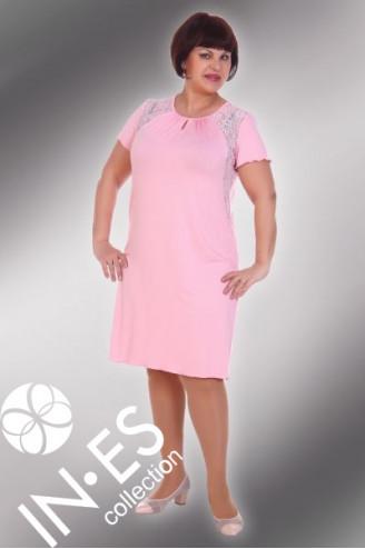 "Ночная сорочка ""Альбина"" розовая"